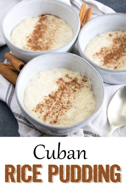 Cuban Rice Pudding