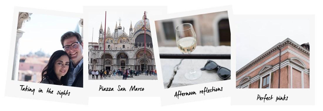Polaroids of Venice by travel blogger Cee Fardoe of Coco & Vera, featuring Piazza San Marco