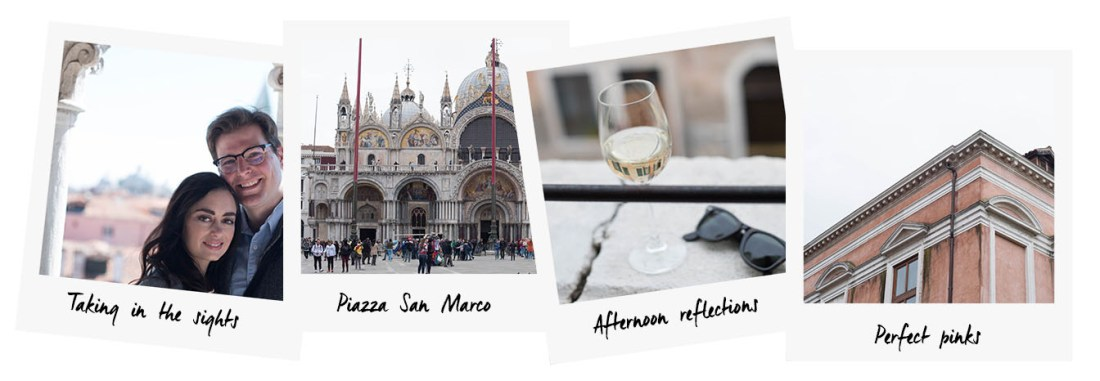 Polaroids of Venice by travel blogger Cee Fardoe of Coco & Vera, featuring Piazza San Marco