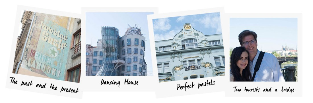 Polaroid photos of Prague taken by travel blogger Cee Fardoe of Coco & Vera