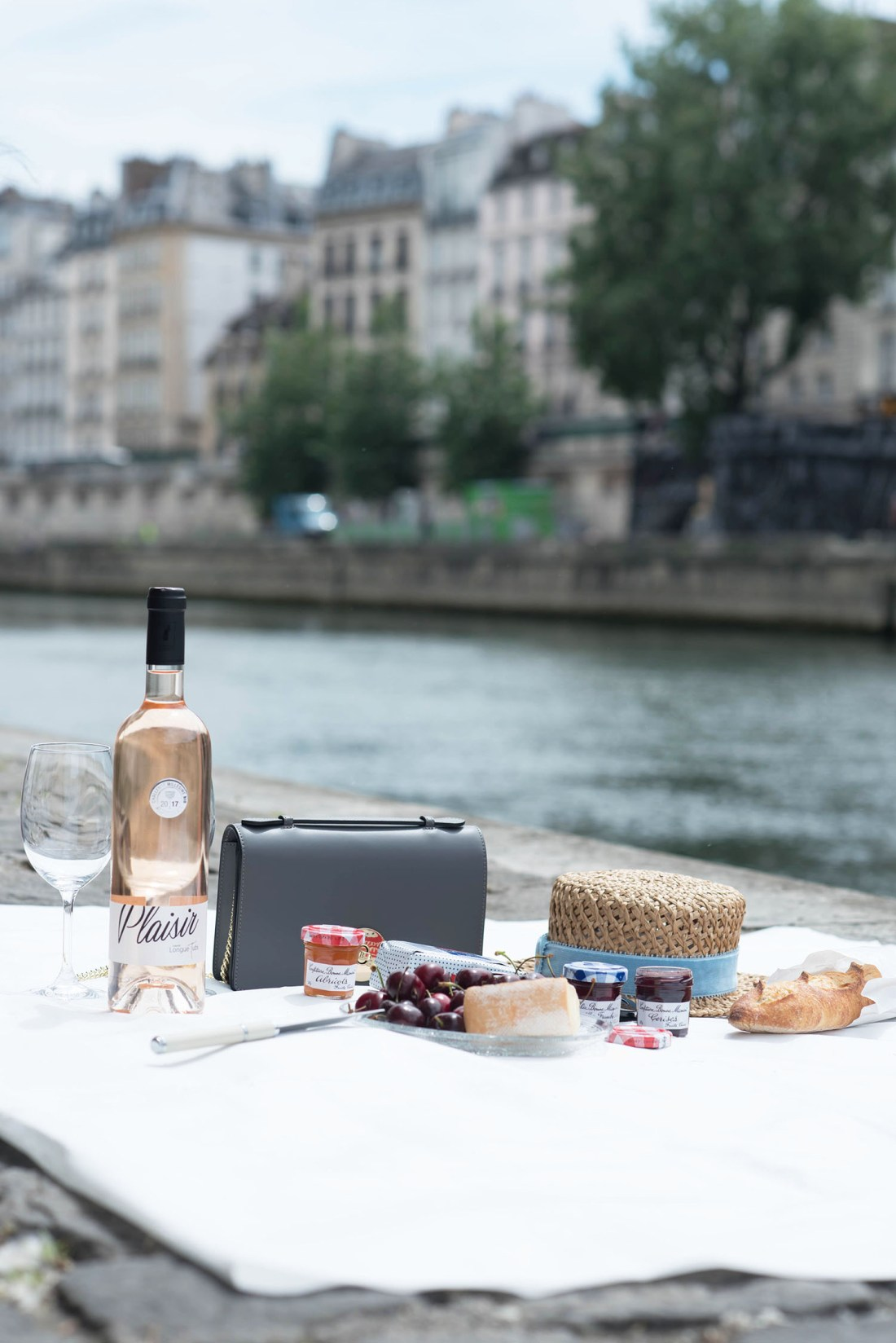 A Bastille Day picnic in Paris, hosted by fashion blogger Cee Fardoe of Coco & Vera