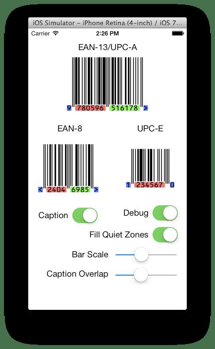 BarCodeKit Demo App