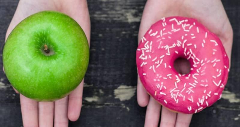 Comida y fuerza de voluntad. ¿Cuándo somos más débiles?