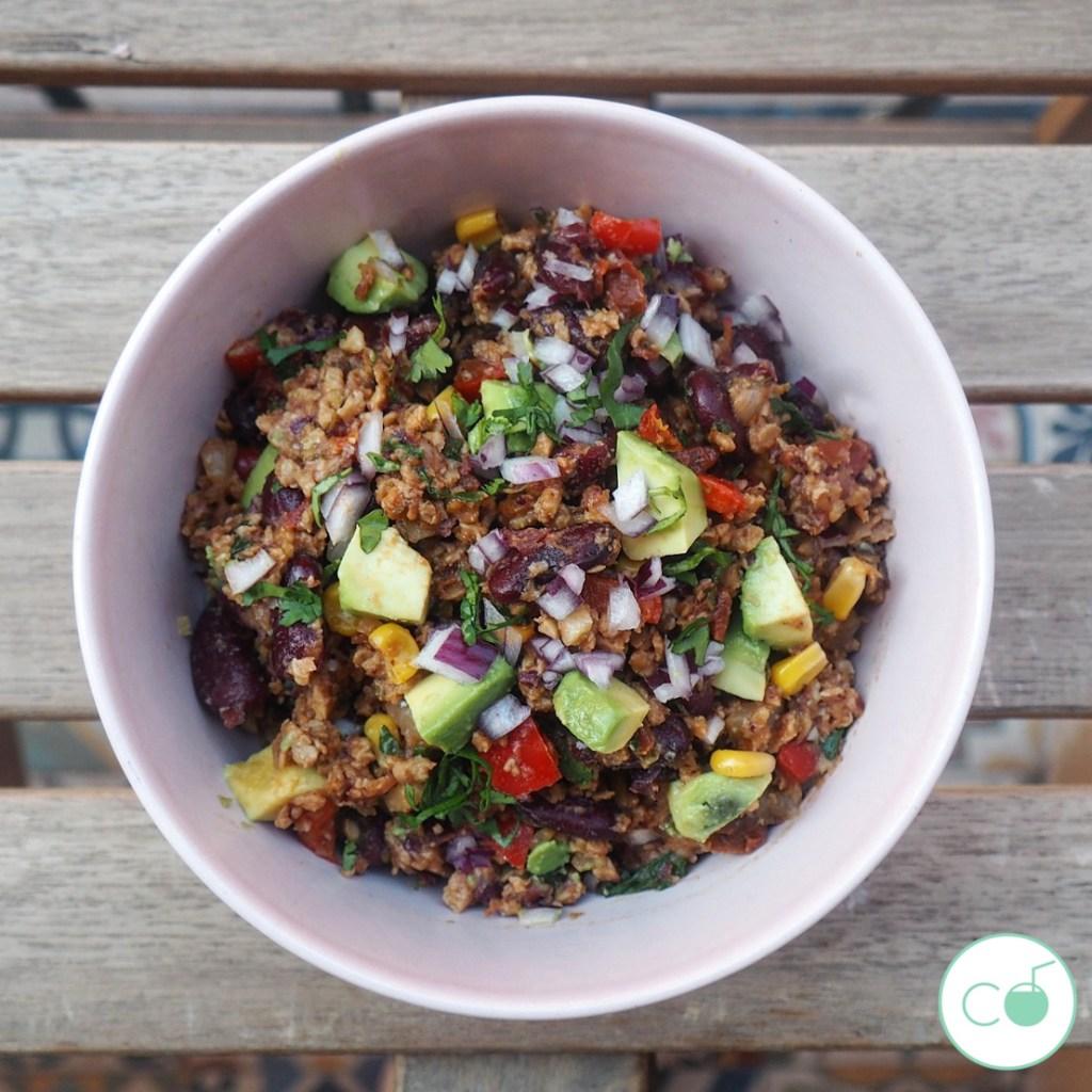 receta chili sin carne vegano