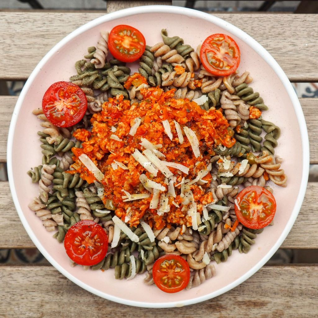receta boloñesa vegetariana vegana