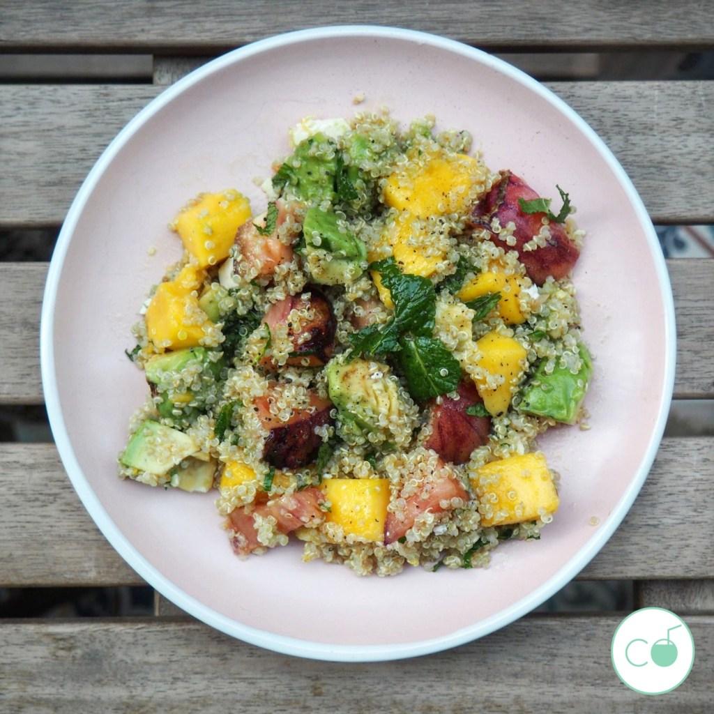 receta ensalada quinoa saluidable