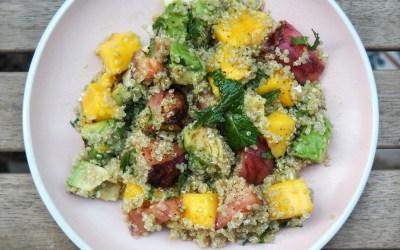 La ensalada de quinoa que te hará feliz