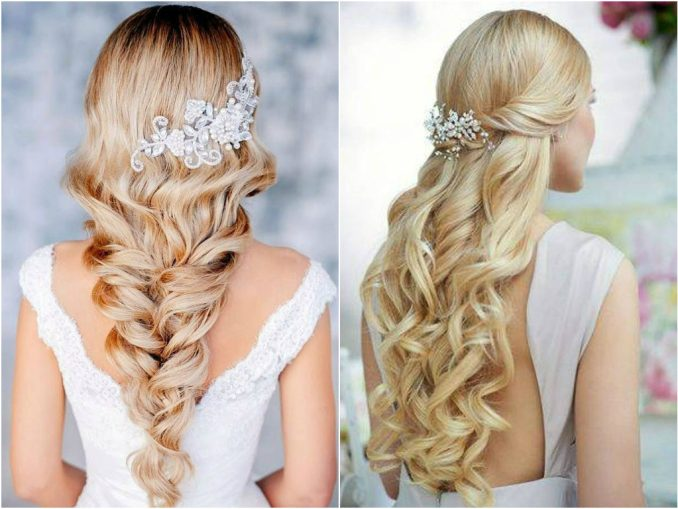 how to get beautiful hair on your wedding day with hair