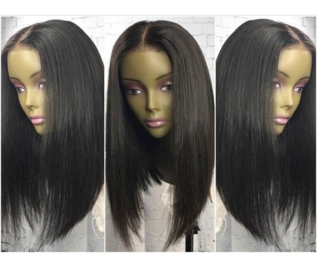 Diana Brazilian Virgin Pre Plucked Bob Straight Full Lace Wig
