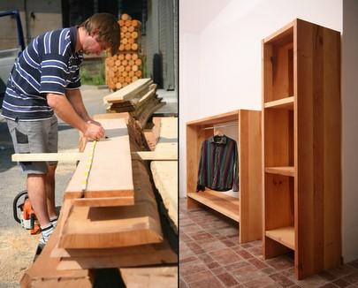 Designer Regalsysteme Holz Kiefer Wohnzimmer Schlafzimmer Bro Kleiderschrank billig Bcherregal