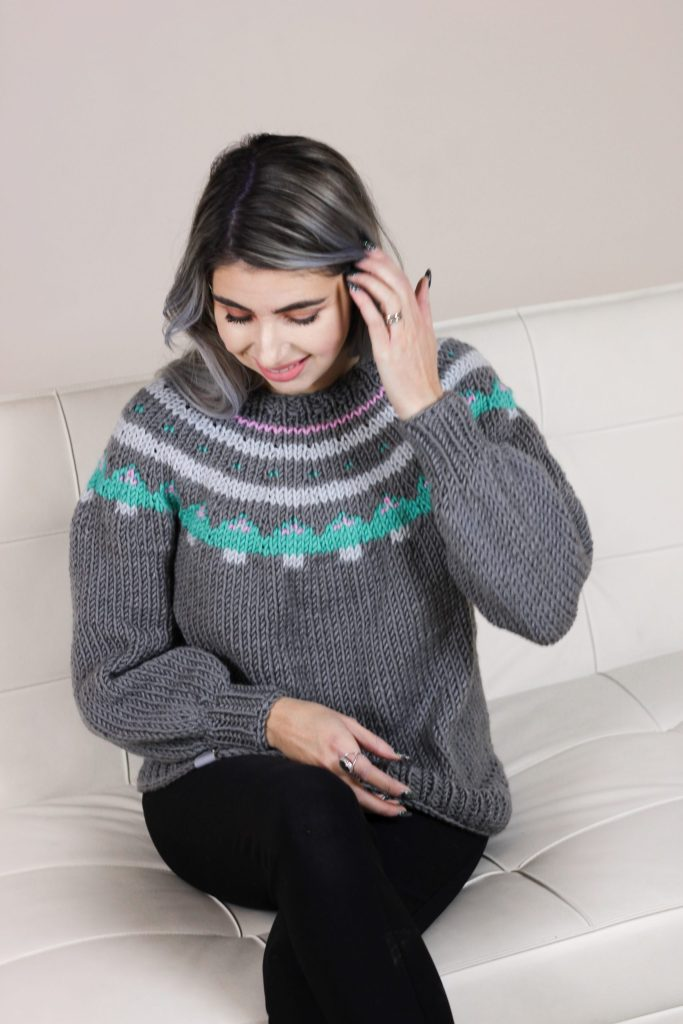 Sugar Cookie Pullover by CoCo Crochet Lee free knitting pattern
