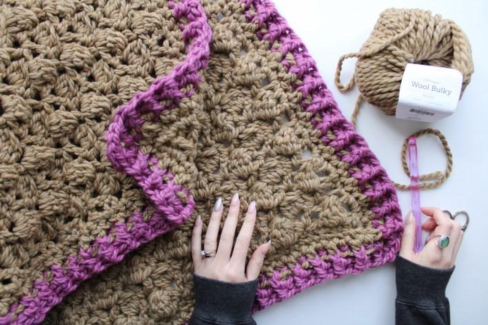 Briar Rose Baby Blanket Free Crochet Pattern