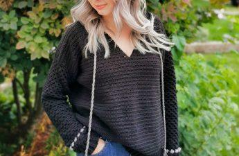 Blairwood Sweater - CoCo Crochet Lee - Lion Brand Yarn