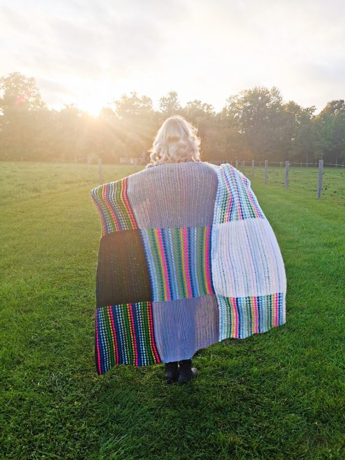 Parielle Throw - free crochet pattern - CoCo Crochet Lee