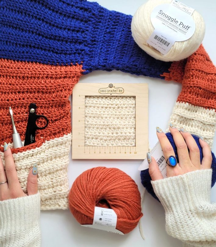 Wip Wednesday Cal Cardigan - CoCo Crochet Lee