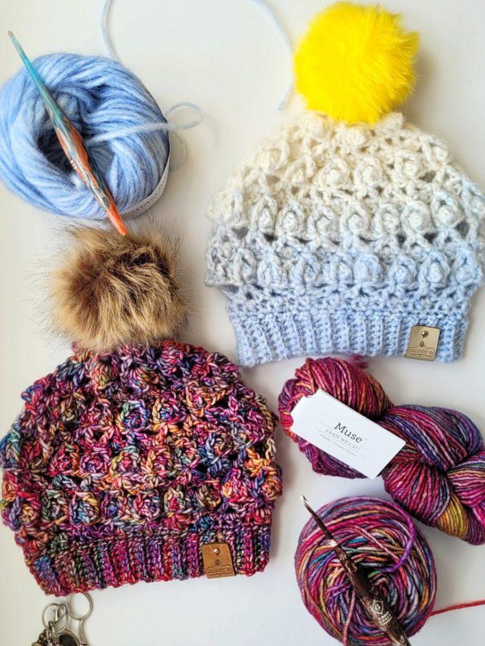 Wip Wednesday Cal Juniper Hat - free crochet pattern - CoCo Crochet Lee - WeCrochet