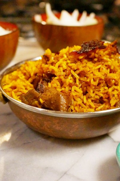 Red Rice: Mom's Garmir Pilaf