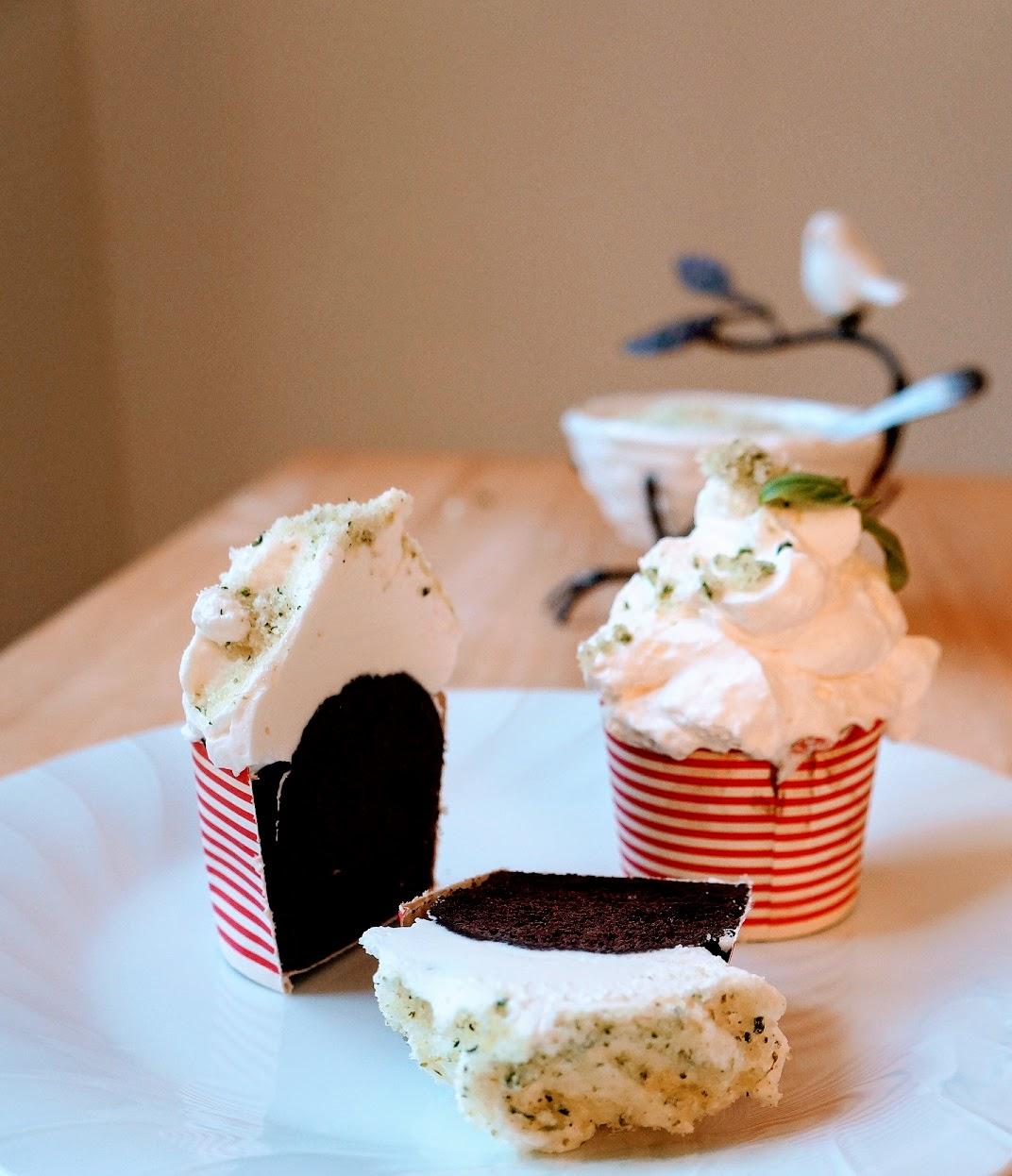 chocolate basil cake