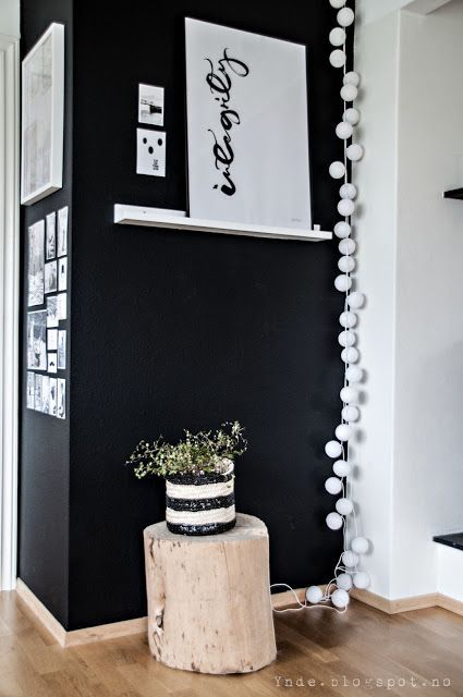 Inspiration  le noir une couleur intense  Cocon  dco
