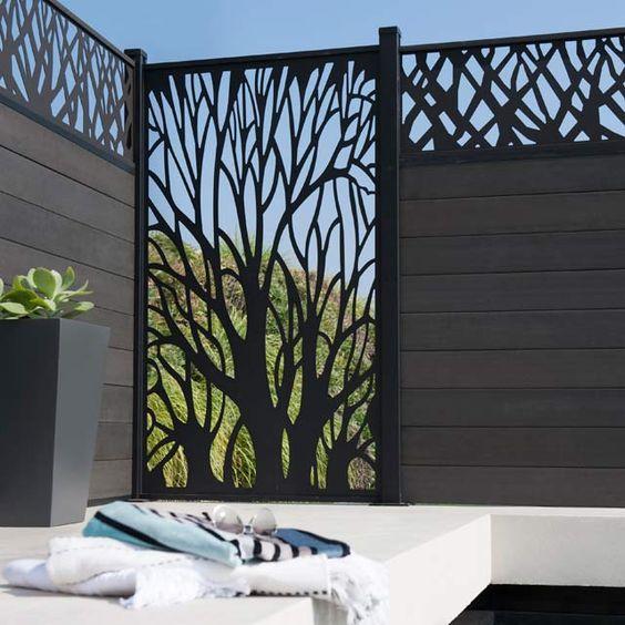 Portail portillon porte et clture pour scuriser votre jardin  Cocon  dco  vie nomade