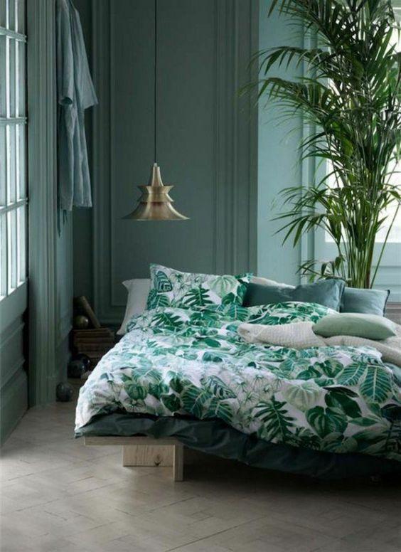 Vert Chambre Coucher - Décoration de maison idées de design d ...