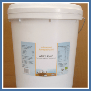 White Gold Virgin Coconut Oil | Raw Cold Pressed, Organic Unrefined