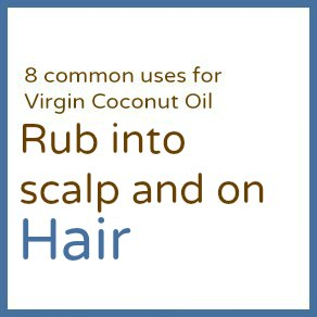 Rub into | Learn about Virgin Coconut Oil