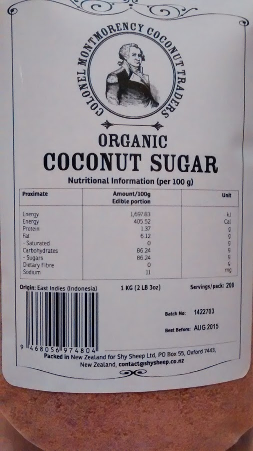 Organic Coconut Sugar | Colonel Montmorency Coconut Traders