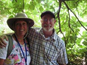 Certified Nutritionalist, Dr Bruce and his wife, Leslie Fife