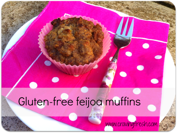 Feijoa muffin | Coconut Oil Shop | The Coconut Resort Blog