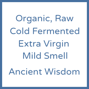 Oil | Organic Extra Virgin Raw Coconut Oil extracted by fermentation only (Gut Friendly) Ancient Wisdom