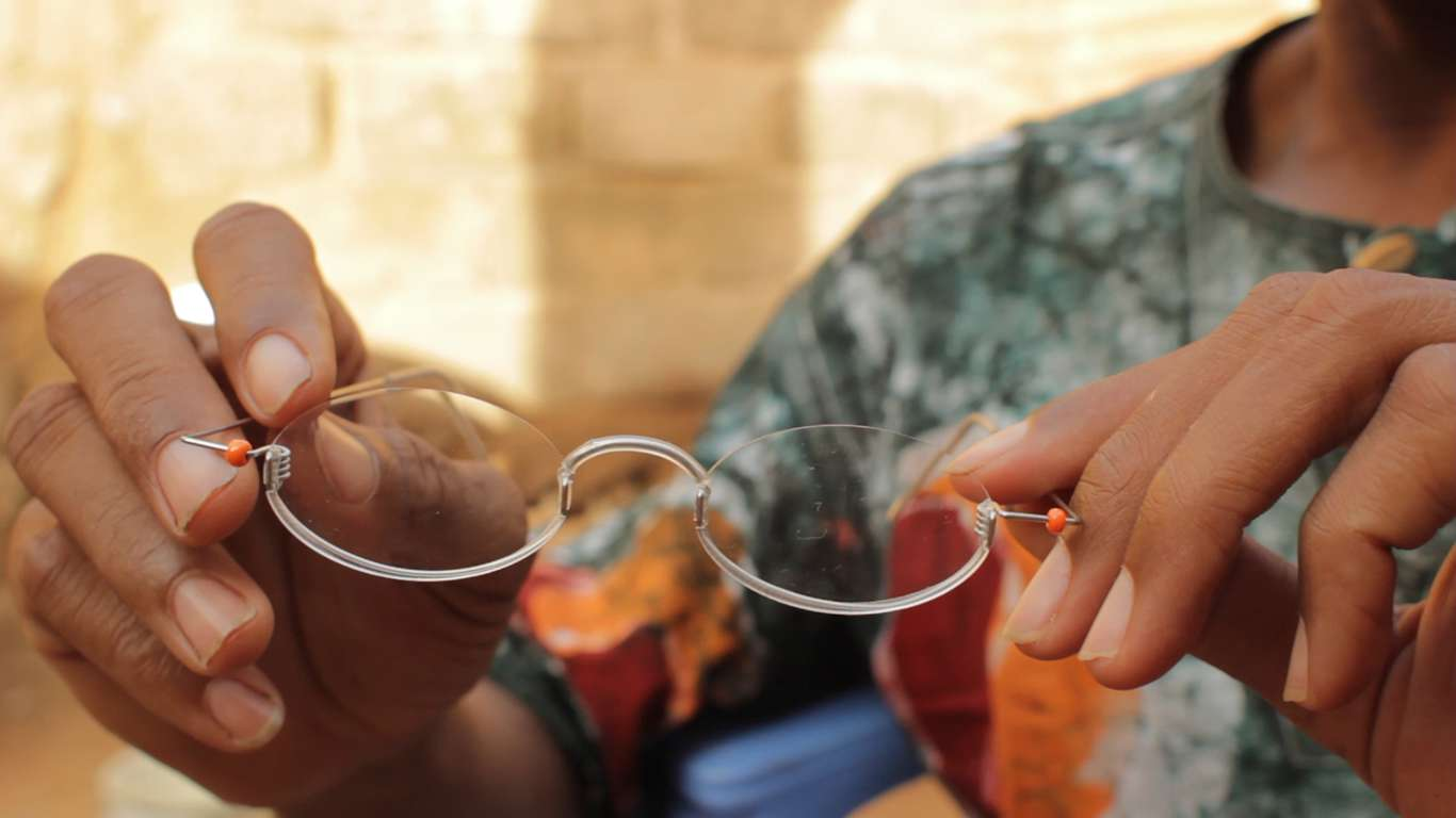 OneDollarGlasses are a complete solution for basic optical care in developing countries that is financially self-sufficient.