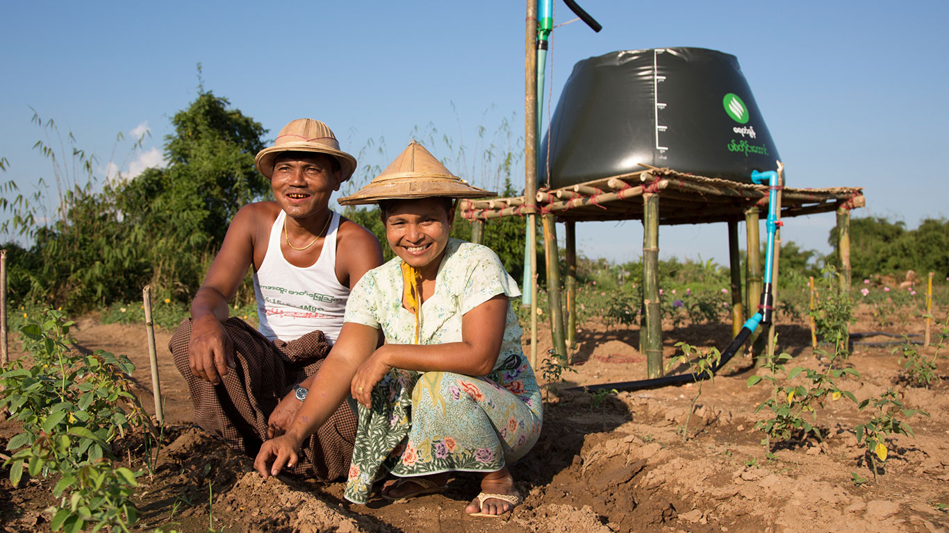 Proximity Designs is a social business in Myanmar. We design and deliver affordable, income-boosting products that complement the entrepreneurial spirit of rural families.