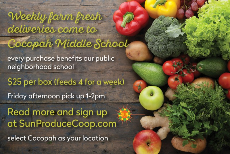 The Farmers Coop Comes to Cocopah