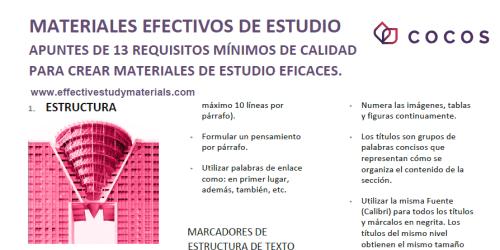 Quicksheets - Spanish
