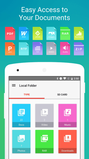 Free PDF Reader Apps for Android phone