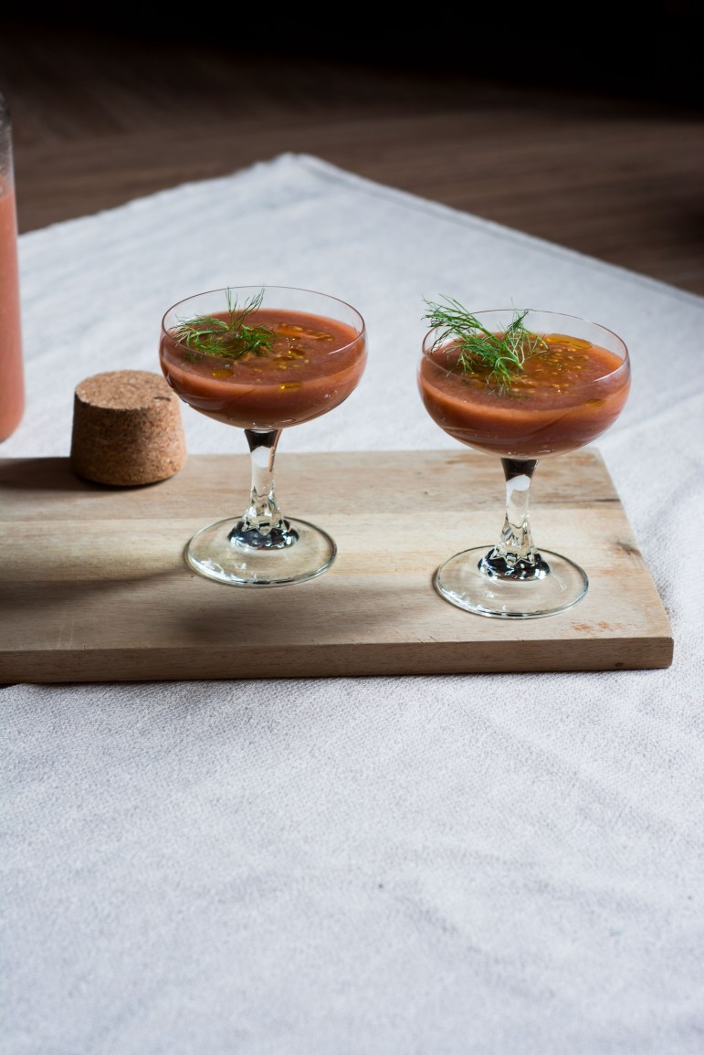 strawberry-fennel-gazpacho