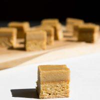 Vegan Ginger Crunch Slice