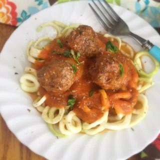 Meatballs & Sauce w/Instant Pot
