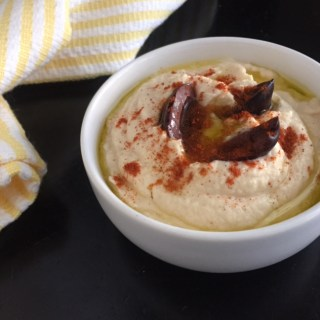 Creamy Cauliflower Hummus/Practical Paleo