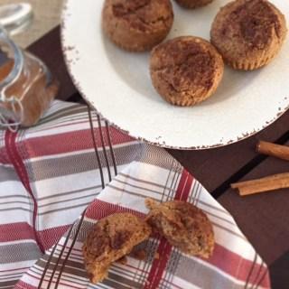 Pumpkin Spice Cinnamon Muffins