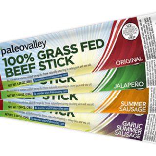 PALEOVALLEY 100% Grass Fed Beef Sticks