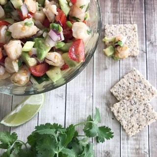 Avocado & Shrimp Salsa