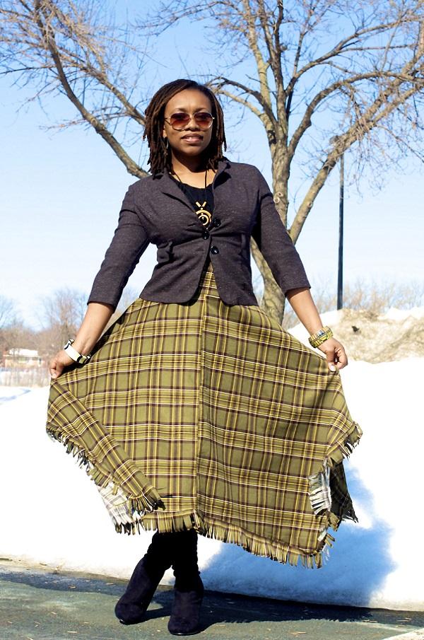 bohemian skirt