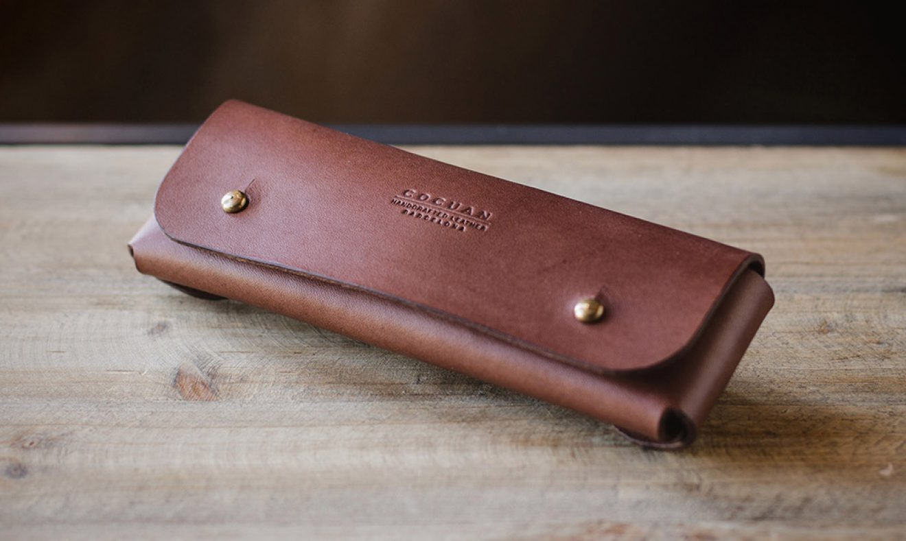 leather pencil case cocuan