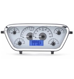 1953 1955 ford pickup vhx gauge instruments dakota digital vhx 53f pu [ 1200 x 1200 Pixel ]