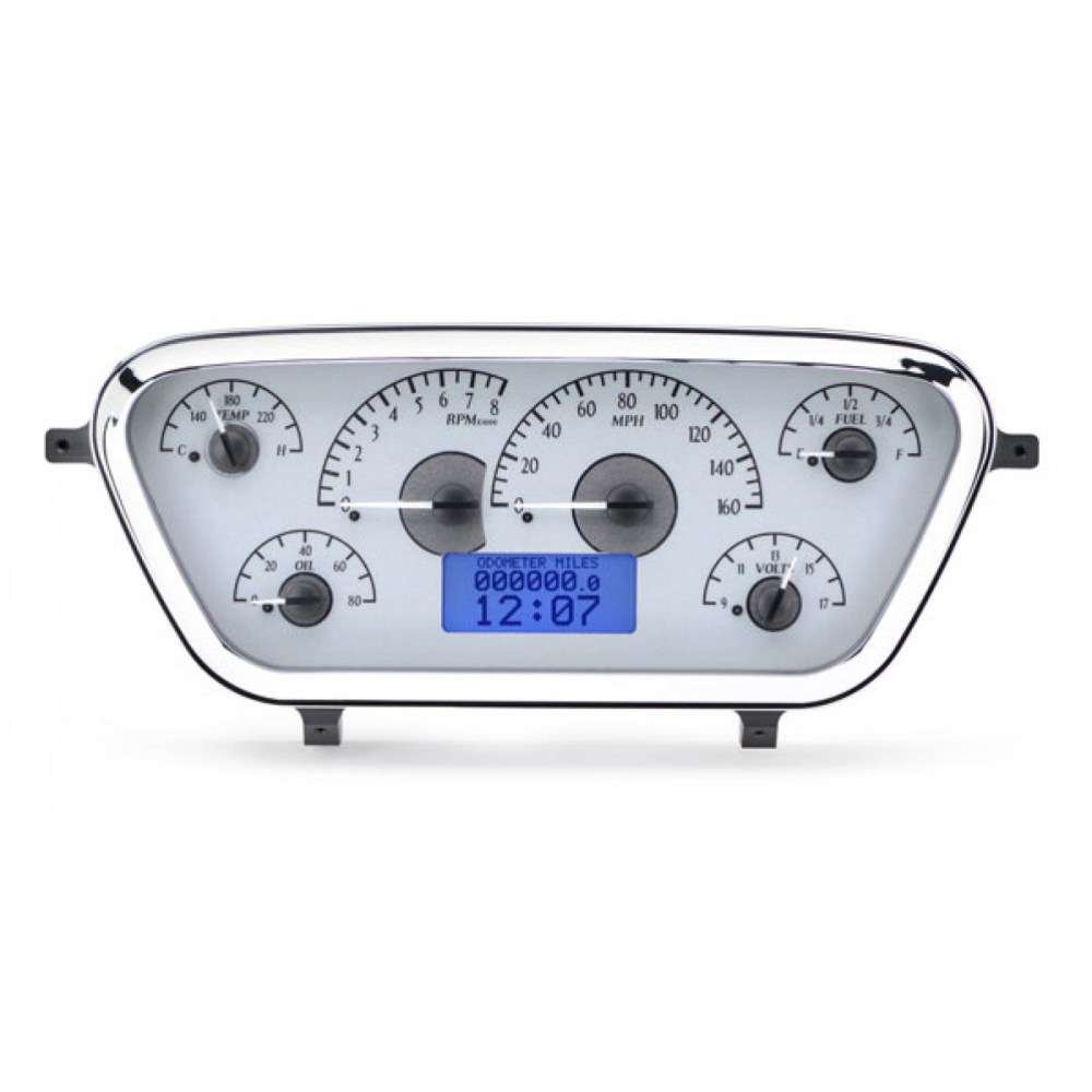 medium resolution of 1953 1955 ford pickup vhx gauge instruments dakota digital vhx 53f pu