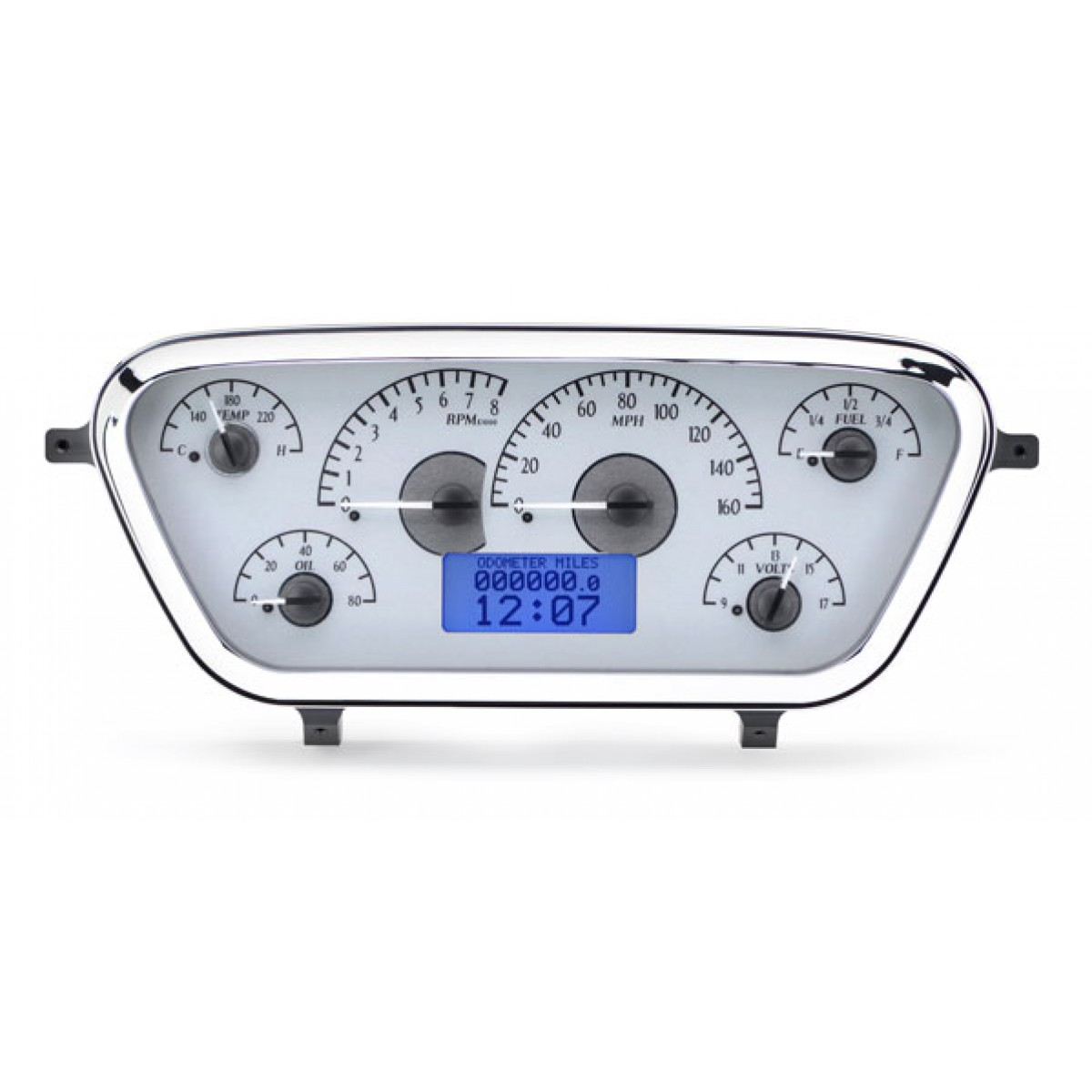 hight resolution of 1953 1955 ford pickup vhx gauge instruments dakota digital vhx 53f pu