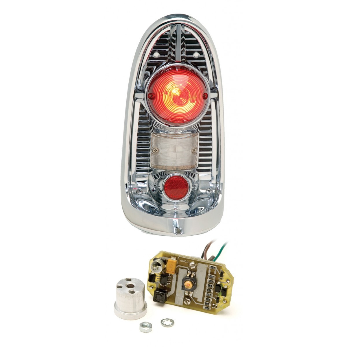 hight resolution of 1956 chevy led tail lights dakota digital lat nr2001956 chevy bel air tail lights wiring