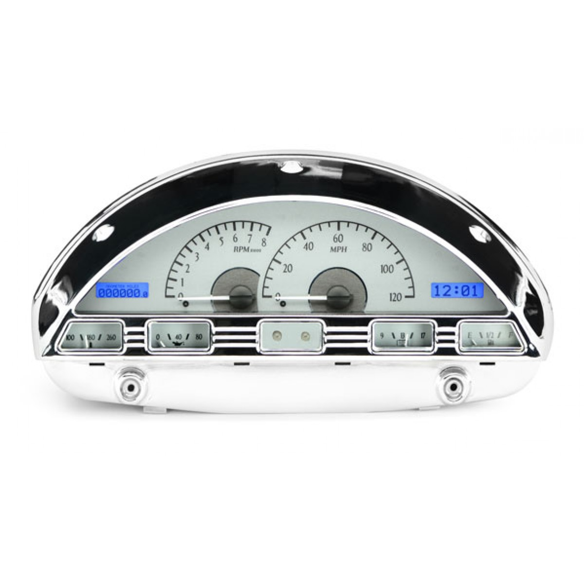 hight resolution of 1956 ford pickup vhx gauge instruments dakota digital vhx 56f pu